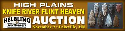 Helblings High Plains Knife River Flint Auction