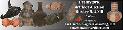 Prehistoric and Historic Artifact Auction